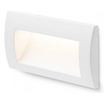 GORDIQ L wpuszczana biała  230V LED 3W IP65  3000K kod: R12537