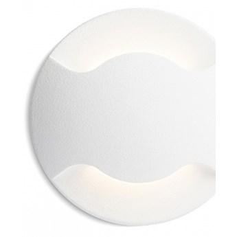 KICK II wpuszczana biała  230V LED 3W IP54  3000K kod: R12616