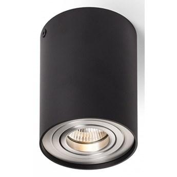 MILANO I sufitowa czarna matowa  aluminium szczotkowane 230V GU10 35W kod: R12681