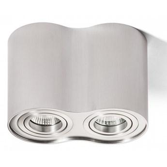 MILANO II sufitowa  aluminium szczotkowane 230V GU10 2x35W kod: R12684