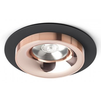 SHARM R I wpuszczana czarna miedź/miedź 230V LED 10W 24°  3000K kod: R13238