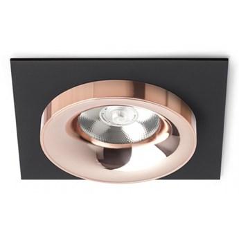 SHARM SQ I wpuszczana czarna miedź/miedź 230V LED 10W 24°  3000K kod: R13253