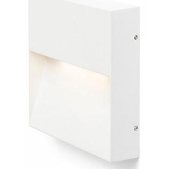 AQILA SQ ścienna biała  230V LED 6W IP54  3000K kod: R12542