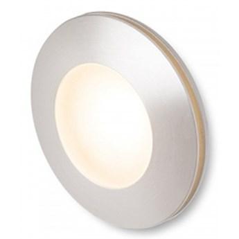 CLUB wpuszczana srebrno-szara  230V LED 3W IP54  3000K kod: R12685