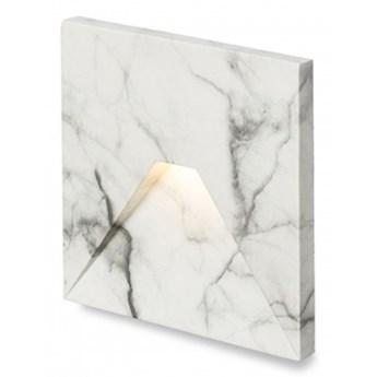 CRISPI wpuszczana  decor biały marmur 230V LED 3W  3000K kod: R13093