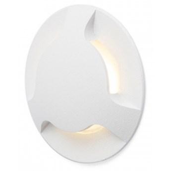 KICK III wpuszczana biała  230V LED 3W IP54  3000K kod: R12619