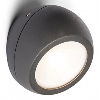 SIV natynkowa antracyt  230V LED 6W 120° IP54  3000K kod: R13502