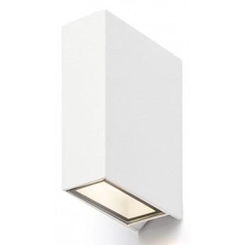 UKKO ścienna biała  230V LED 2x3W 55° IP54  3000K kod: R12554