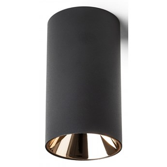 CANTO sufitowa czarna  230V LED GU10 8W kod: R13472