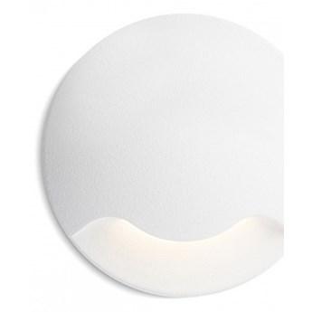KICK I wpuszczana biała  230V LED 3W IP54  3000K kod: R12613