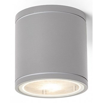 LIZZI sufitowa srebrno-szara  230V GU10 35W IP54 kod: R13506