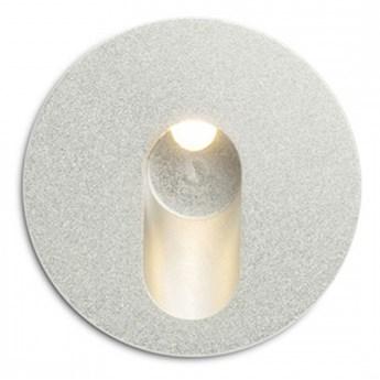 MEMPHIS R wpuszczana w ścianę srebrno-szara  230V LED 3W 60°  3000K kod: R12687