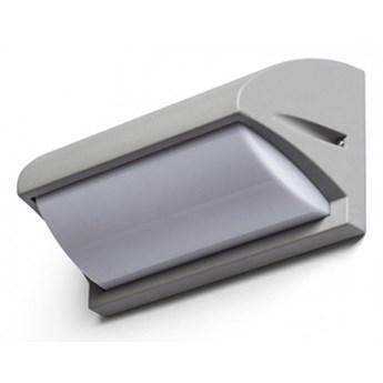 MORA ścienna srebrno-szara  230V E27 18W IP54 kod: R12571