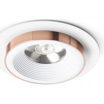 SHARM R I wpuszczana biała miedź 230V LED 10W 24°  3000K kod: R13235