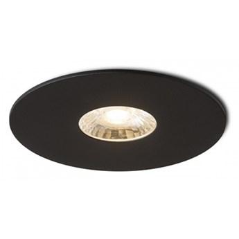 SPRAY 9 wpuszczana czarna  230V LED 7W 24°  3000K kod: R13300