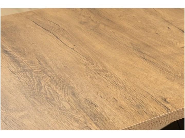Duży Stół LOFT Rozkładany Metalowe Nogi 230/150x80 Stal Szerokość 80 cm Płyta laminowana Tworzywo sztuczne Długość 150 cm  Długość 80 cm  Płyta MDF Rozkładanie Rozkładane