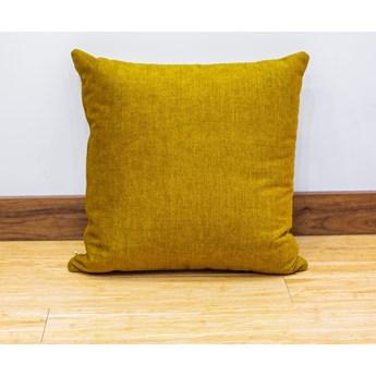 Poduszka Eco z wypełnieniem żółta