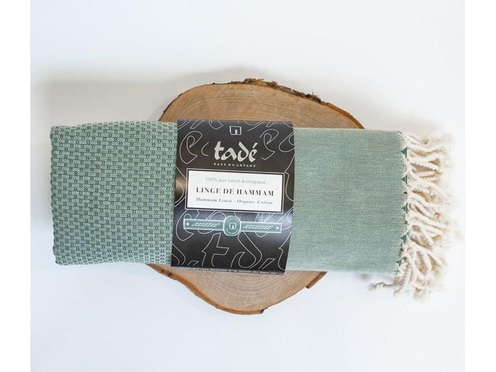 Ręcznik Hammam duży oliwkowy Ręcznik do sauny Bawełna Ręcznik plażowy Kategoria Ręczniki