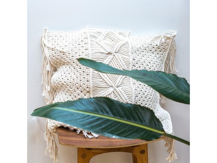 Poszewka na poduszkę 50x50 cm kolor natural Kategoria Poduszki i poszewki dekoracyjne Poszewka dekoracyjna Bawełna Kolor Szary