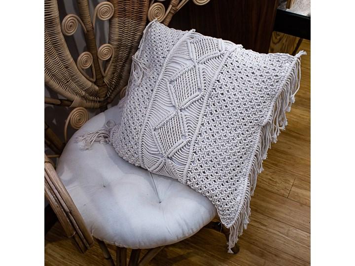 Poszewka na poduszkę 50x50 cm kolor natural Bawełna Poszewka dekoracyjna Kategoria Poduszki i poszewki dekoracyjne
