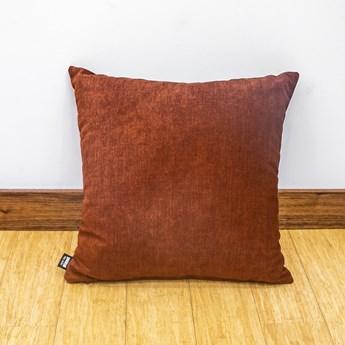 Poduszka Eco z wypełnieniem bordowa