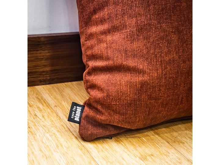 Poduszka Eco z wypełnieniem bordowa Poliester Kolor Bordowy Poduszka dekoracyjna Kategoria Poduszki i poszewki dekoracyjne