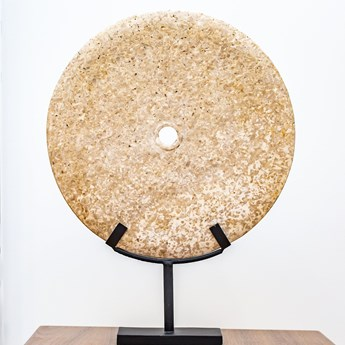 Dekoracja kamienna śr. 40 cm ze stojakiem