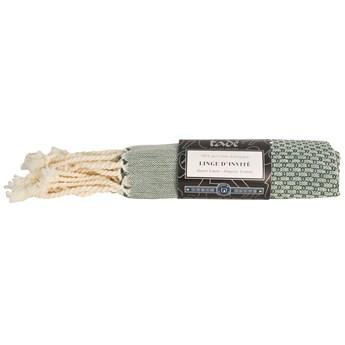 Ręcznik Hammam z organicznej bawełny mały, Bio Oliwka