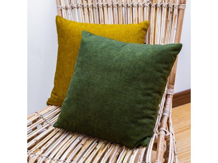 Poduszka Eco z wypełnieniem zielona Poduszka dekoracyjna Poliester Kolor Zielony Kategoria Poduszki i poszewki dekoracyjne