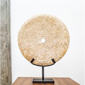 Dekoracja kamienna śr. 30 cm ze stojakiem