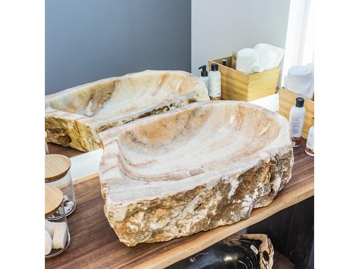 Umywalka Onyx (59 cm x 40 cm) , My Love Bali Kamień naturalny Stal Marmur Drewno Porcelana Szkło Kategoria Umywalki