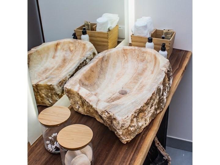 Umywalka Onyx (59 cm x 40 cm) , My Love Bali Marmur Szkło Kamień naturalny Stal Drewno Porcelana Kategoria Umywalki