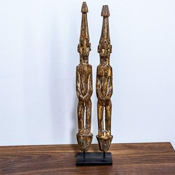 Dwie figurki ręcznie robione, My love Bali