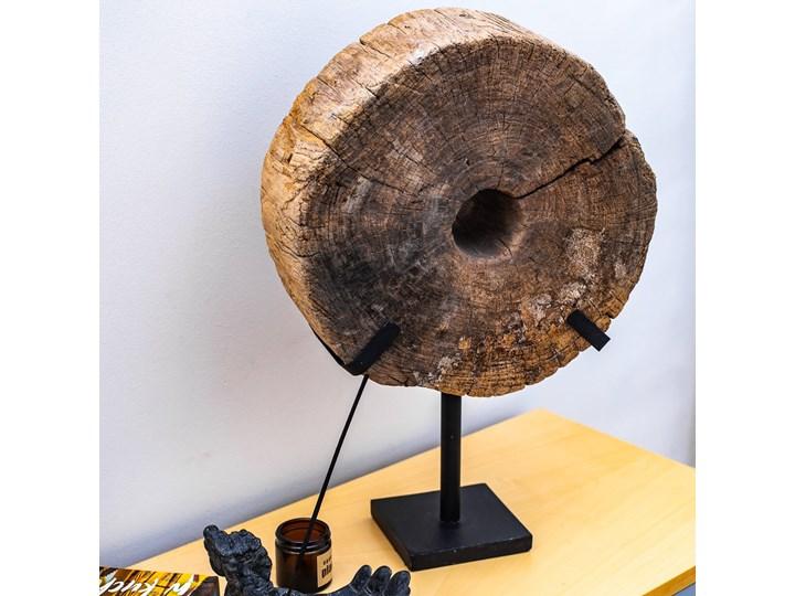 Drewniana dekoracja ze stojakiem Metal Drewno Kategoria Figury i rzeźby
