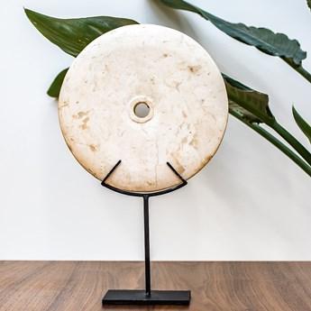 Dekoracja kamienna śr. 20 cm ze stojakiem