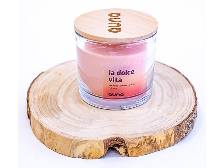 Świeczka La Dolce Vita, Auna Świeca zapachowa Świeca Drewno Kategoria Świeczniki i świece