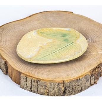 Mydelniczka ceramiczna ręczenie robiona dwie paprotki