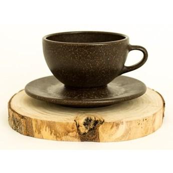 Duża filiżanka z fusów kawy, Kaffeeform