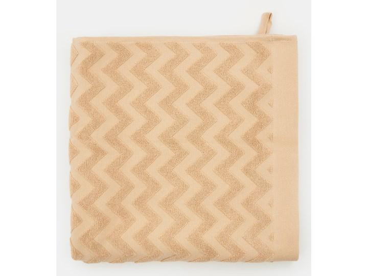 Sinsay - Ręcznik bawełniany - Beżowy 70x140 cm Bawełna Kategoria Ręczniki