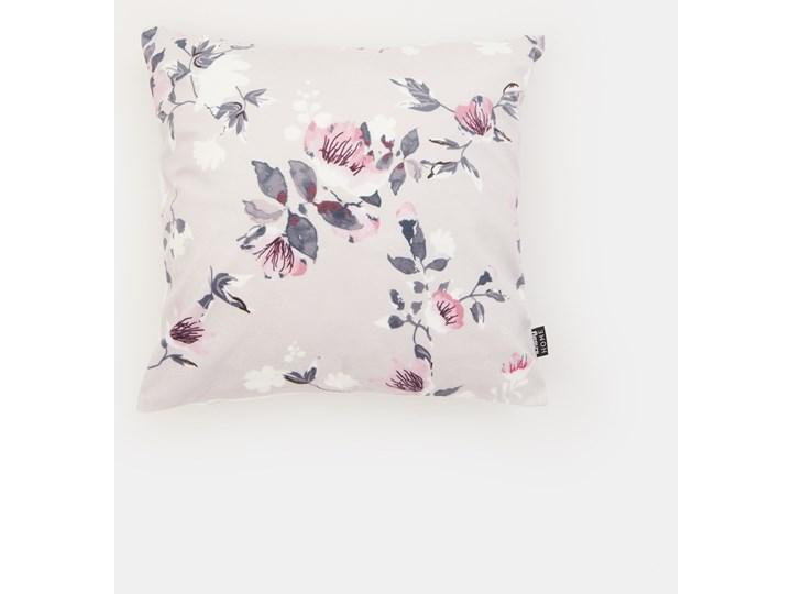 Sinsay - Poszewka na poduszkę - Jasny szary 40x40 cm Poszewka dekoracyjna Kolor Biały Kategoria Poduszki i poszewki dekoracyjne