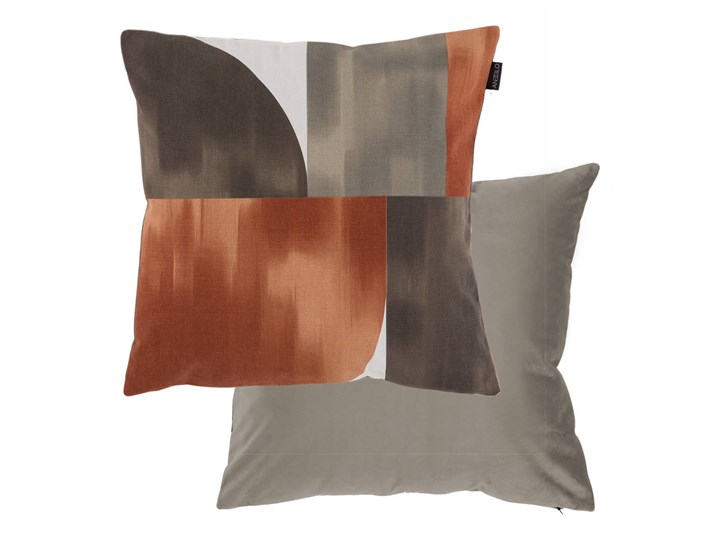 Poszewka Antilo Print 23 Caldera Poliester 45x45 cm Kategoria Poduszki i poszewki dekoracyjne Bawełna Poszewka dekoracyjna Kolor Brązowy