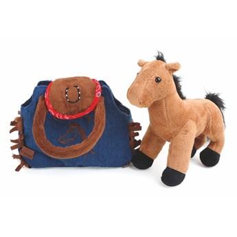 Kucyk pluszowy z woreczkiem Legler Western