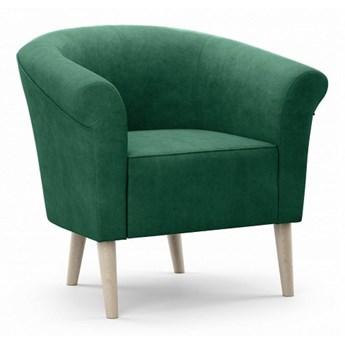 Bettso Wygodny fotel tapicerowany PERO - zielony / R38