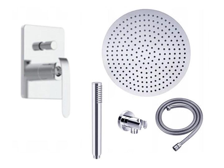 VELDMAN ZESTAW PODTYNKOWY 2712 DESZCZOWNICA SLIM (rozmiar do wyboru) Wyposażenie Z słuchawką