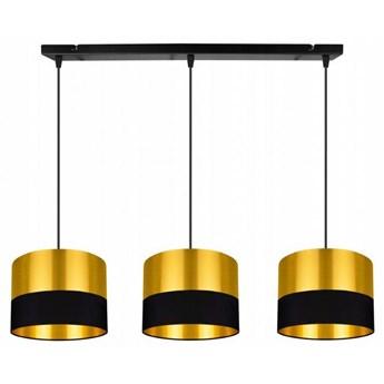 Elegancka Lampa Wisząca Złota z Regulacją