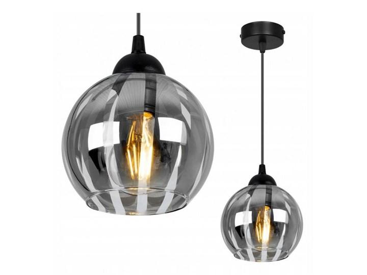 Nowoczesna Lampa Wisząca z Oryginalnym Kloszem ze Szkła Lampa z kloszem Szkło Kategoria Lampy wiszące