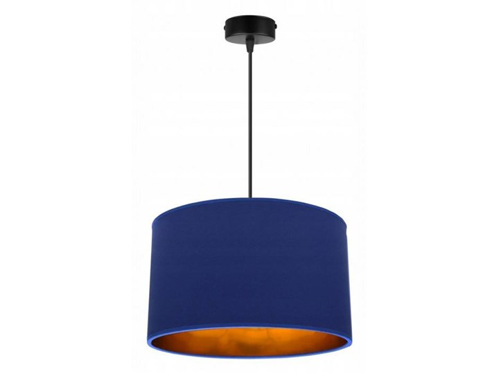 Klasyczna Lampa Wisząca z Abażurem i Metalicznym Wnętrzem Lampa z abażurem Funkcje Brak dodatkowych funkcji