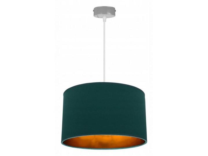 Klasyczna Lampa Wisząca z Abażurem i Metalicznym Wnętrzem Funkcje Brak dodatkowych funkcji Lampa z abażurem Styl Klasyczny