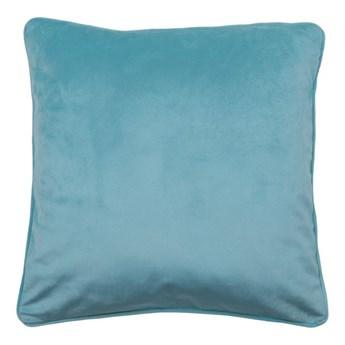 Poduszka welurowa Velutto niebieska 45 x 45 cm