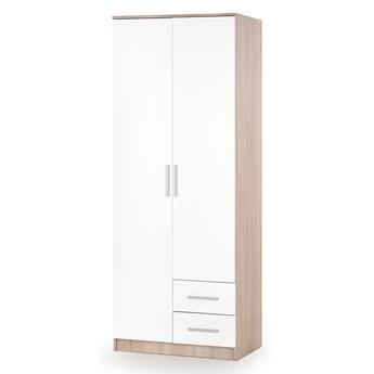 LIMA S-2 szafa dąb sonoma / biały (2p 1szt)